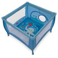 Tarc de joaca Play Baby Design Blue