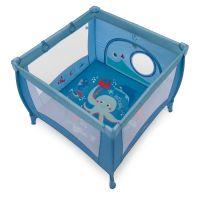 Tarc de joaca cu inele ajutatoare Play UP Baby Design blue