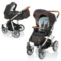 Carucior 2 in 1 Dotty Baby Design Dark Rock