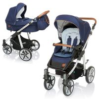 Carucior 2 in 1 Dotty Baby Design Deep Ocean