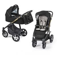 Carucior multifunctional 2 in 1 Lupo Comfort Baby Design Black