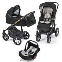 Carucior multifunctional 3 in 1 Baby Design Lupo Comfort Black