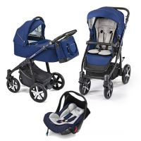 Carucior multifunctional  3 in 1 Baby Design Lupo Comfort Navy Blue