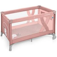 Patut pliabil un nivel Simple Pink Baby Design