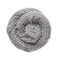 Wrap elastic pentru purtarea bebelusului Manduca BellyButton WildCrosses Grey