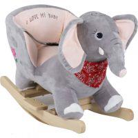 BabyGo - Balansoar cu Sunete Elefant