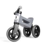 Vehicol fara pedale Rider Sport 2 in 1 Funny Wheels Grey