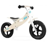 Caretero - Bicicleta de lemn fara pedale Velo Natur