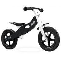 Caretero - Bicicleta de lemn fara pedale Velo Black