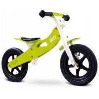 Caretero - Bicicleta de lemn fara pedale Velo Green