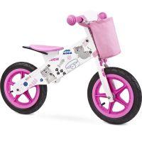 Toyz - Bicicleta lemn fara pedale Zap Pink