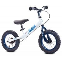 """Bicicleta fara pedale Toyz Flash 12"""" white"""