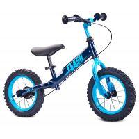 """Bicicleta fara pedale Toyz Flash 12"""" navy"""
