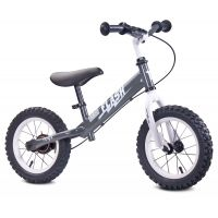 "Bicicleta fara pedale Toyz Flash 12"" grey"