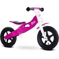Caretero - Bicicleta de lemn fara pedale Velo Purple