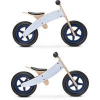 Toyz - Bicicleta de lemn fara pedale 2 in 1 Woody Blue