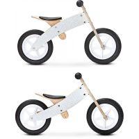 Toyz - Bicicleta de lemn fara pedale 2 in 1 Woody Grey