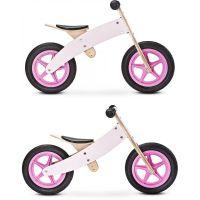 Toyz - Bicicleta de lemn fara pedale 2 in 1 Woody Pink