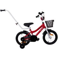 Bicicleta cu maner BMX Junior 14 inch Rosu Sun Baby