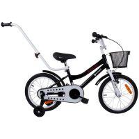 Bicicleta cu maner BMX Junior 16 inch Negru Sun Baby