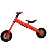 DHS Baby - Bicicleta fara pedale B-Bike Rosu