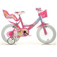 Dino Bykes - Bicicleta fete cu roti ajutatoare Disney Princess 14 inch 144PSS