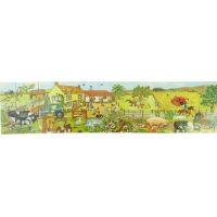 Big Jigs - Puzzle lemn Ferma Bunicii 20 piese