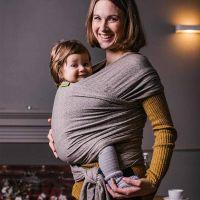 Boba - Wrap elastic pentru purtarea bebelusilor Limited Edition Rain Puddles