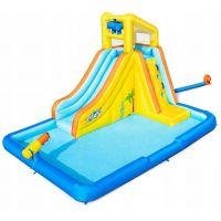 Centru de joaca gonflabil cu apa Bonanza Bestway 53349, 448x311x266 cm