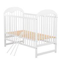 Baby Needs - Patut din lemn Oskar 120x60 cm