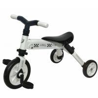 DHS - Tricicleta copii pliabila 2 in 1 B-Trike Alb
