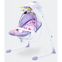 Caretero - Leagan electric cu scaun rotativ Bugies Purple
