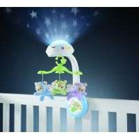 Fisher Price - Carusel cu proiector Butterfly Dreams 3 in 1
