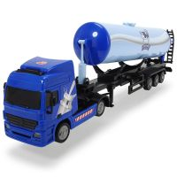 Camion Road Truck Fresh Milk Dickie Toys