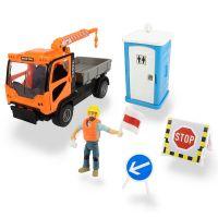 Set service camion Playlife cu figurina si accesorii Dickie Toys