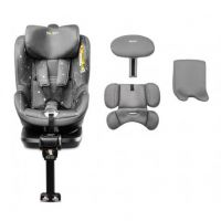 Caretero - Scaun auto i-Size cu isofix Twisty 360 Rear facing Grey