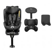 Caretero - Scaun auto i-Size cu isofix Twisty 360 Rear facing Black
