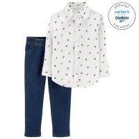 Set 2 Piese Elegant camasa & pantaloni Carters