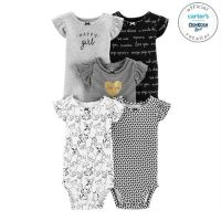 Set 5 body catelusi 100% bumbac Carters