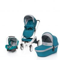 Carucior 3 in 1 Cosmo Dark Turquoise 4Baby