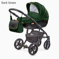 Camini- Carucior 2 in 1  Frontera Dark Green