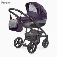 Camini - Carucior  2 in 1 Frontera  Purple