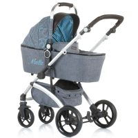 Chipolino - Carucior 3 in 1 Malta sky blue