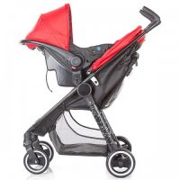 Chipolino - Carucior 2 in 1 Motto Red