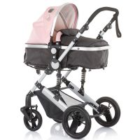Carucior 3 in 1 Chipolino Terra rose pink