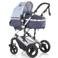 Carucior 3 in 1 Chipolino Terra sky blue