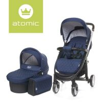 Carucior 2 in 1 Atomic Navy Blue 4Baby