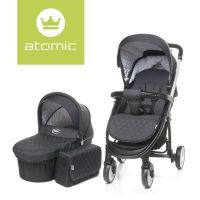 Carucior 2 in 1 Atomic Dark Grey 4Baby