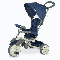 Coccolle - Tricicleta cu sezut reglabil Evo Albastru