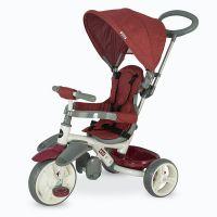 Coccolle - Tricicleta cu sezut reglabil Evo Visiniu